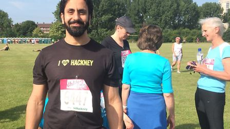 Mr Sayed fundraised on behalf of the Great Ormond Street Hospital which supported his cousin through