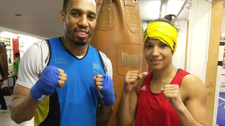 Ryan Charles (left) and Valerian Spicer are off to the Commonwealth Games