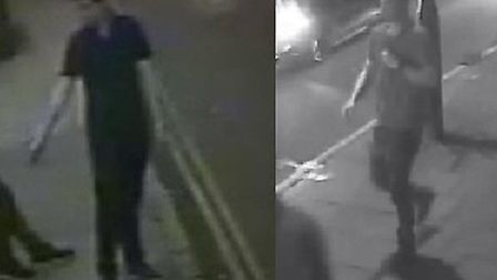 Police believe these men can help with enquiries