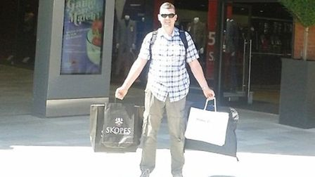 David Bald won LDO's Father's Day competition
