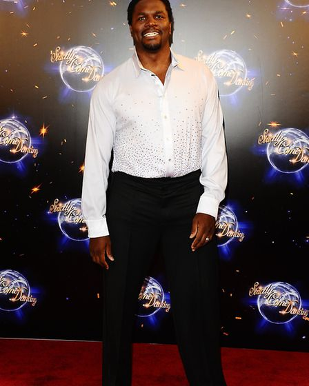 Audley Harrison during the launch show for Strictly Come Dancing (PA/ Ian West)