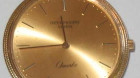Patek Philippe watch worth £40,000 was stolen from a house in Kilburn