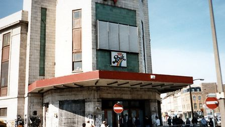 The Rainbow Theatre shortly after it closed in 1981