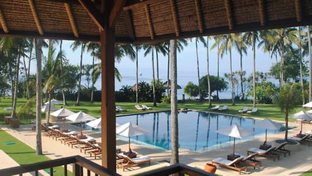 The Alila Mangiss's expansive pool