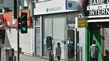 The Barclays branch in Kilburn will close on September 12 (pic credit: Google Maps)