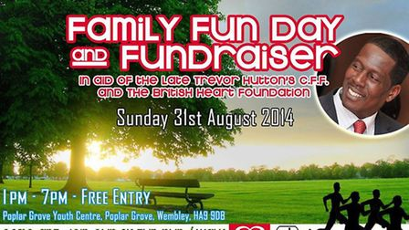 Fundraising event will take place on Sunday