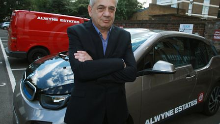 Malcolm Levy, of Alwyne Estates, is upset at Islington council as they are not allowed to use the pu