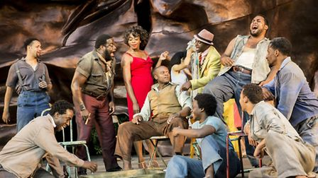 Porgy and Bess Company. Photo Johan Persson, Regent's Park Open Air Theatre, 2014, Credit: Johan Per