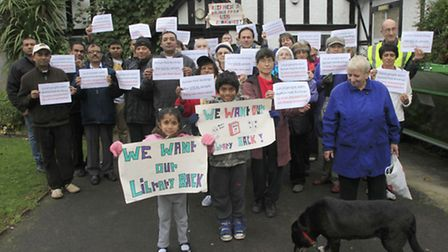 Campaigners from FOBL (Pic credit: Jan Nevill)