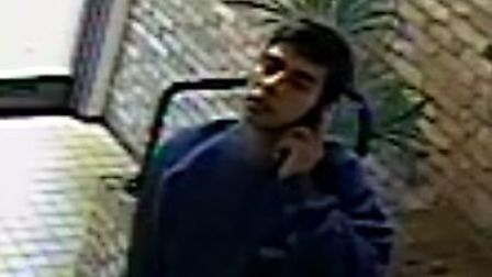 Police want to speak to this man after a theft in which a man posed as a courier
