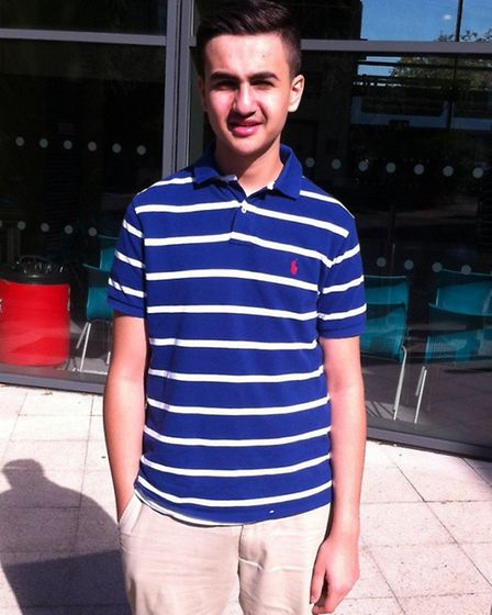Nima Akram, who took his AS-level maths a year early and scored an A grade.