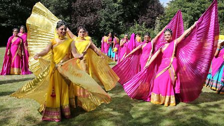 A six day festival boasting colour and dance followed the official opening of the new temple