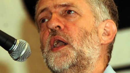 Labour MP Jeremy Corbyn speaking at the Annual Conference of the 'Stop the War' coalition, taking pl