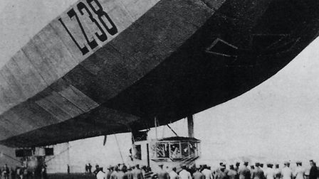The LZ38 Zeppelin Pic: Islington Local History Centre