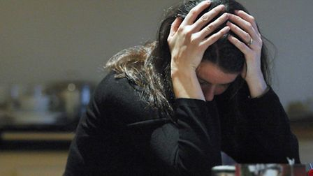 Residents in Brent suffer 19 bouts of stress daily - PICTURE POSED BY MODEL