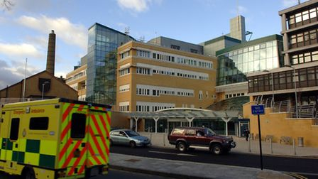 The Whittington Hospital in Archway (Picture: Steve Parsons)