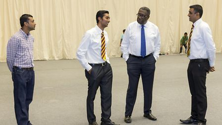 Clive Lloyd CBE was impressed by the indoor facilities