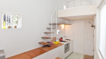 The flat is located in the Barnsbury area of Islington in north London (Picture: Zoopla)