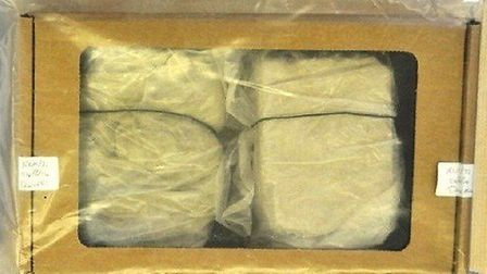 Drugs worth £70,000 was seized