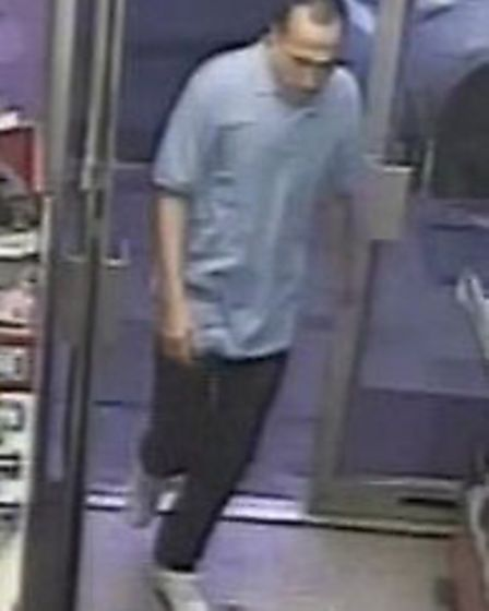 Police want to speak to this man in connection with the attempted robbery in Archway