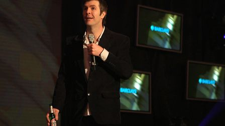 Comedian Rhod Gilbert, one of the more famous alumni of Logan Murray's Stand Up and Deliver course.