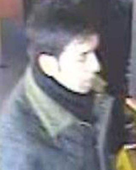 This man is wanted in connection with a pickpocket incident in Cafe Nero in Kilburn High Road on Feb