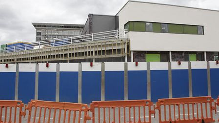 The new A&E department is due to open before November 1