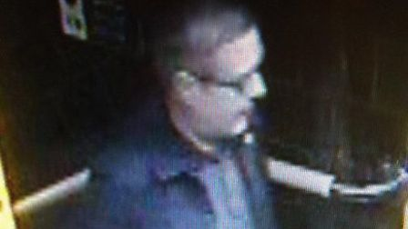 Police would like to speal to this man after Mahaneela Choudhury-Reid was abused on a train