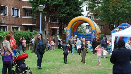 NHS Islington Clinical Commissioning Group held a community fun and wellbeing event to help locals g