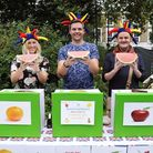 The human fruit machine at the Arlington Summer Fete