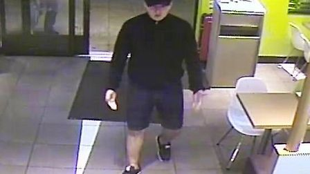 Police would like to speak to this man in connection with an attack in McDonalds Neasden
