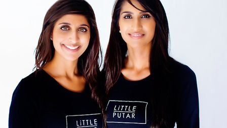 Sisters Rajveen (left) and Harleen Takhar