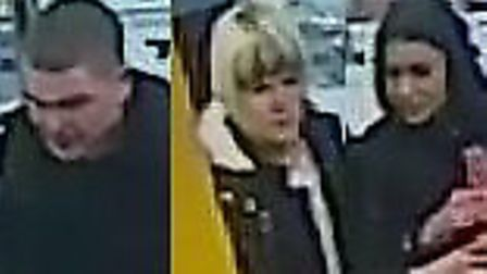 These three are wanted following a shoplifting incident in Argos in Wembley High Road
