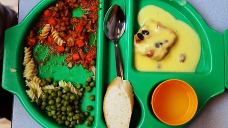 All schoolchildren aged four - seven are entitled to a free school meal (Pic credit: PA)