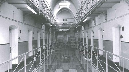 Inside HMP Holloway in 1970 Pic: English heritage