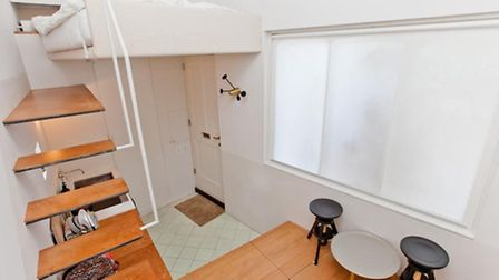 Measuring just 188sqm it must be one of London's smallest properties (Picture: Zoopla)