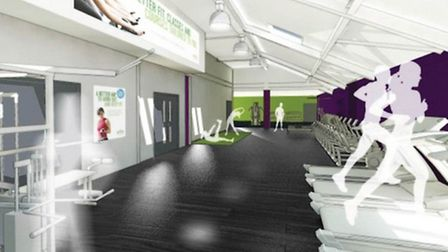 An artist's impression of the Highbury centre's refurbishment