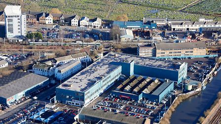 Cargiant are moving ahead with extensive plans to redevelop the Hythe Industrial Estate in NW10