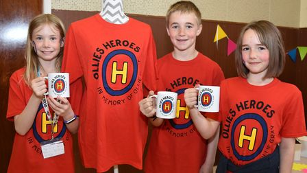The annual Ollie's Heroes cake sale was held in memory of Ollie Gray from Oulton, who died in 2015.