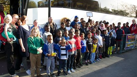 Campaigners took a coach to Brent Civic Centre