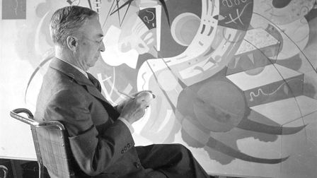 Russian painter Wassily Kandinsky pictured in France, 1936. Photo: by Lipnitzki/Roger Viollet/Getty