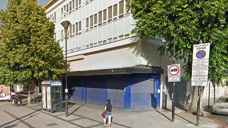 The site on Seven Sisters Road where Lidl hope to open a new shop Pic: google