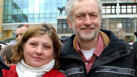 Islingon's Labour Party MPs Emily Thornberry and Jeremy Corbyn