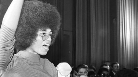 Black History Month 2014 - Angela Davis from the Black Power Movement, who features in one of the do