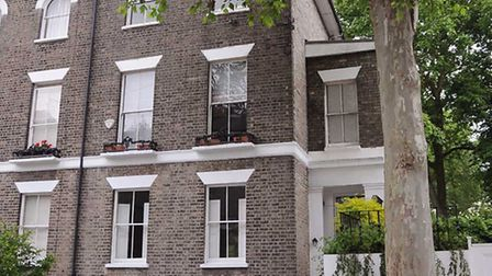Tony Blair's former Barnsbury home was put on the market for �3.1 million last year.