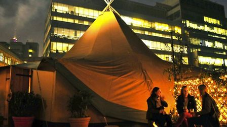 The Wigwambam at the Queen of Hoxton