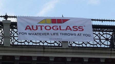The 'tasteless' sign on Archway Bridge was the work of an art student