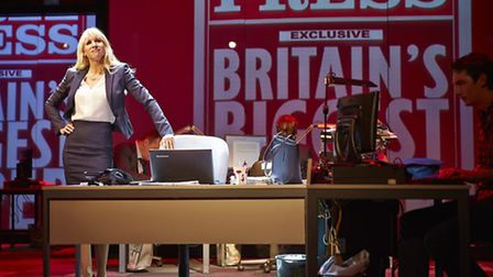 Paige Britain (Lucy Punch) in Great Britain