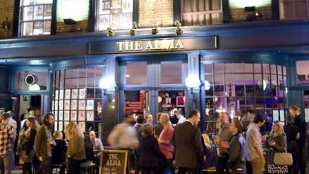 The Alma's re-opening was a roaring success