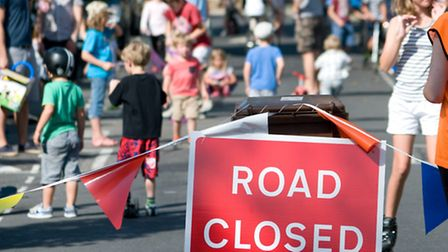 Oldfield Road was closed to traffic on Sunday as the new play street scheme launched in Hackney